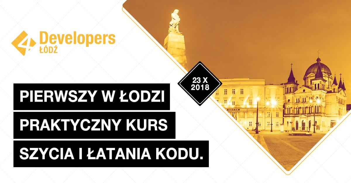 Read more about the article Dzięki za 4Developers w Łodzi!