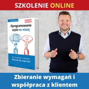 Szkolenie ONLINE – Zbieranie wymagań i współpraca z klientem