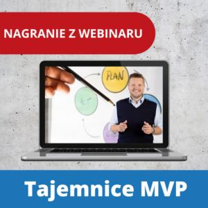 Nagranie webinarium Tajemnice MVP