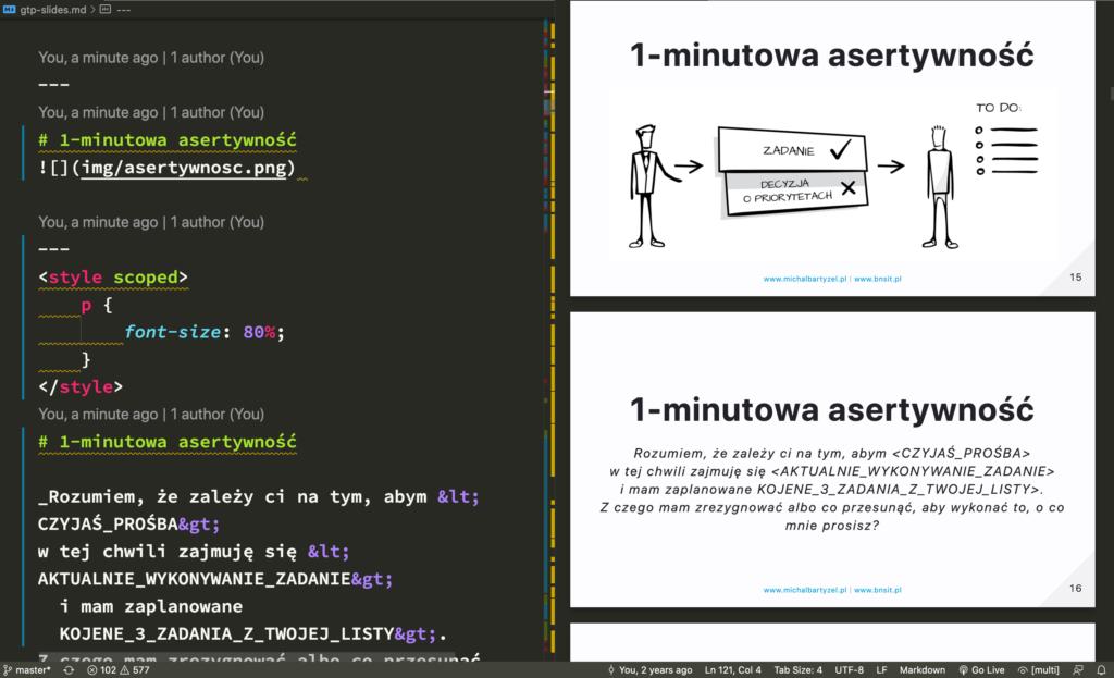 Documentation as Code - prezentacje w Marpit